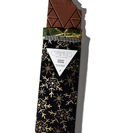 COMPARTES - Luxury Limited Edition Sticky Toffee Milk Chocolate Bar Christmas Gift