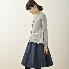 green label relaxing - green label relaxing WOMENS(グリーンレーベルリラクシングウィメンズ)の★★[MIELLE(ミエル)]Bulky スカート(スカート)|ネイビー