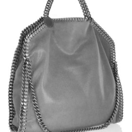 Stella McCartney - Falabella faux brushed-leather shoulder bag
