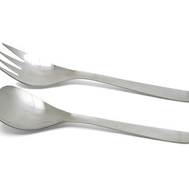 Sori Yanagi - Flatware, Serving Fork & Spoon