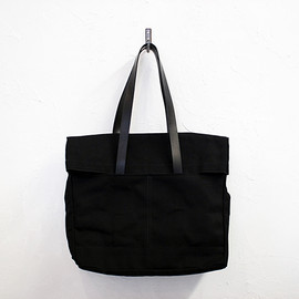 Makr Carry Goods - CANVAS AND LEATHER FOLD WEEKENDER