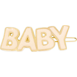 Katie - LETTERED baby hair pin