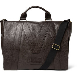 Marc by Marc Jacobs - Textured-Leather Messenger Bag