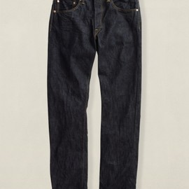 RRL - Low Straight Once Washed Denim