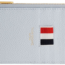 Thom Browne - Blue Half-Zip Around Wallet