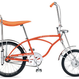 schwinn - sting-ray orange crate