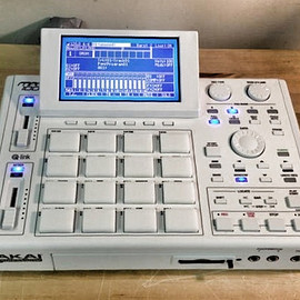 AKAI professional, MPC Stuff - MPC 1000 XLCD ALL WHITE