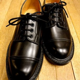 Tricker's - Tricker's × Union Works / Cap Country Shoes / Black