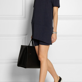 Neil Barrett - Asymmetric jersey-crepe two-piece dress
