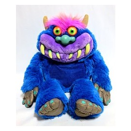 Vintage Kuddlee Uglee Plush Monster with Chains Tara Toy Corp 80s 90s