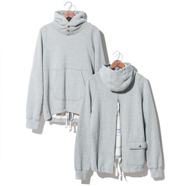 Engineered Garments, BEAMS - PULLOVER ZIP HOODY