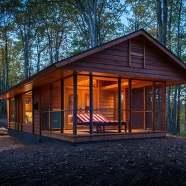 400 Square Foot Micro Traveling Cabin
