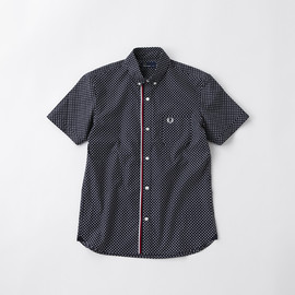 Fred Perry - Short Sleeve Tipped End On End Shirt/F4296
