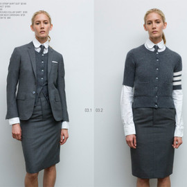 THOM BROWNE - Outfit 2 From 2008 S/S