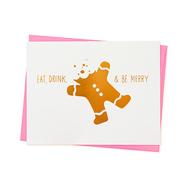 MOMA - Eat Drink & Be Merry card