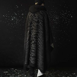 UNDERCOVER - Wool Printed Cape(2009 FALL/WINTER )
