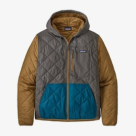 patagonia - Men's Diamond Quilted Bomber Hoody - Multi: Noble Grey MIGR