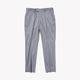 SOPHNET. - STRETCH GABARDINE SLACKS