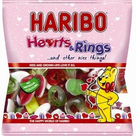 HARIBO - Hearts, Rings