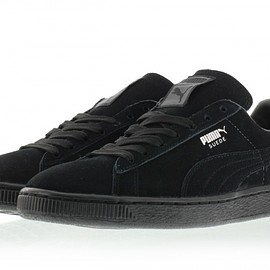 PUMA - Suede Classic+ - Black/Dark Shadow