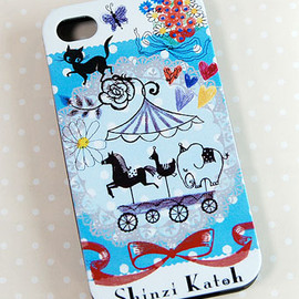 Shinzi Katoh - Merry Go Round iphone4s Case
