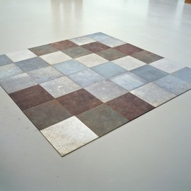 carl andre - weathering piece