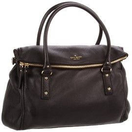 kate spade NEW YORK - Kate Spade Cobble Hill Leslie Satchel,Black,one size