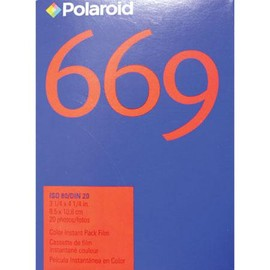 Polaroid - 669 Color Film