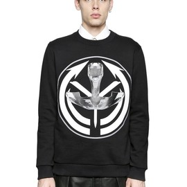 GIVENCHY - AFRICAN TARGET PRINTED COTTON SWEATSHIRT