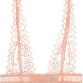 La Perla - Blow up tulle and lace bra