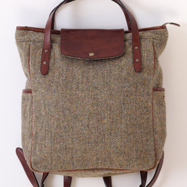 TROVE - MAALARI BAG ( HARRIS TWEED , SHOP LIMITED )