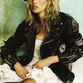 Lewis Leathers - Cyclone Custom Jacket for Kate Moss