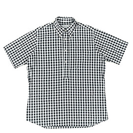 INDIVIDUALIZED SHIRTS - Pullover Shirts Classic Fit Big Gingham Check-Blk