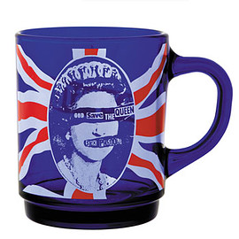 SEX PISTOLS - GOD SAVE THE QUEEN GLASS MUG