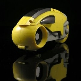 NECA - The Tron Light Cycle - Yellow