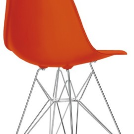 vitra - Eames Shell Side Chair DSR Chrome Base