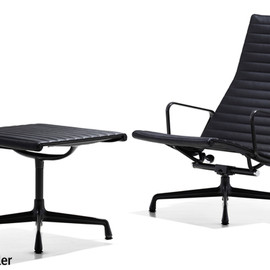 Herman Miller - Eames Aluminum Group Lounge Chair & Ottoman