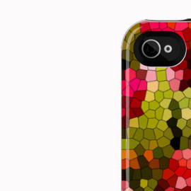 "UNCOMMON - iPhone 4/4s CAPSULE CASE ""Spring Mosaic"""