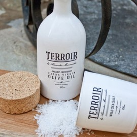 Terroir, Chris Zawada design - Terroir Salt & Olive Oil