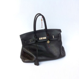 HERMES - Jane Birkin's Signed & Used Hermes Birkin Bag