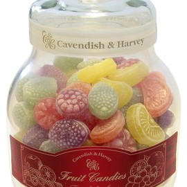 Cavendish & Harvey - Assorted Fruit Hard Candy Jar