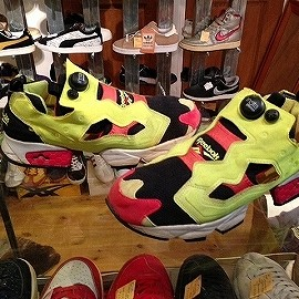 "Reebok - 「<used>1994 Reebok INSTA PUMP FURY 1st color original""made in KOREA"" size:US10(28cm) 16800yen」完売"