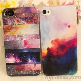 Colorful Galaxy Painted Iphone Case For Iphone 4/4s/5