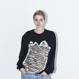 Assembly New York - Assembly Zebra Fur Sweatshirt