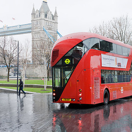 London - New Double-Decker Bus