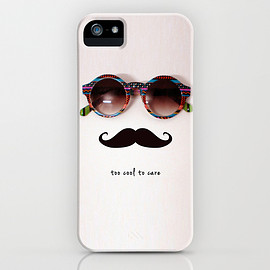Society6 - 画像1: <アウトレット品>je m'en fous by Basilique (iPhone5/5s用ケース)