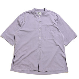 CLAMP LoW - Satin Night Shirt-BlueBerry