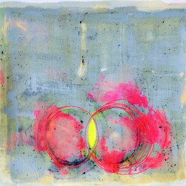 Helen Dooley - Drawings 8, 2013, encaustic wax on paper