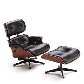 Vitra Design Museum - Lounge Chair and Ottoman (miniature)
