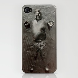 Greg Koenig - Steve Wozniak in Carbonite iPhone Case
